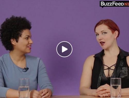 Kristina Marlen und Josefa Nereus bei BuzzFeed News