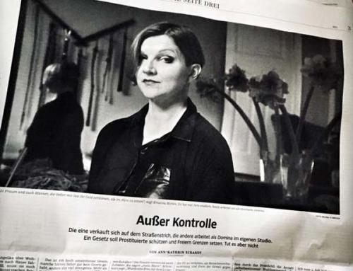 Kristina Marlen in der Süddeutschen Zeitung zum Prostitutionsschutzgesetz