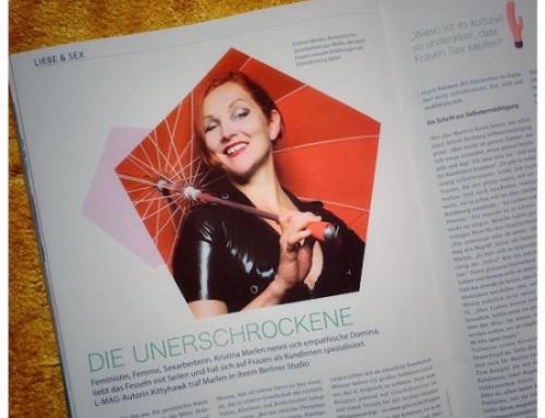 Kristina Marlen im L-Mag