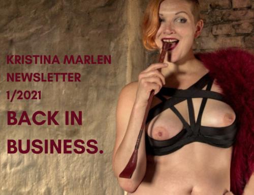 BACK IN BUSINESS – Newsletter 1/2021